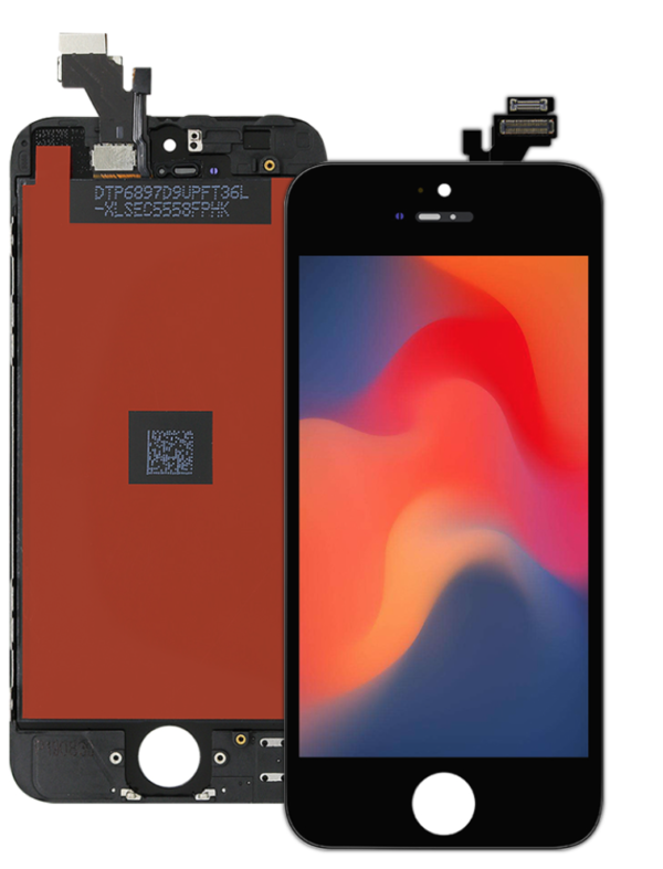 iPhone 5 LCD Display & Digitizer Touch Skærm (Grade A+)
